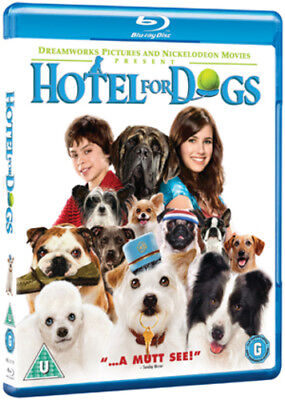 Hotel for Dogs Blu-Ray (2009) Emma Roberts ***NEW***