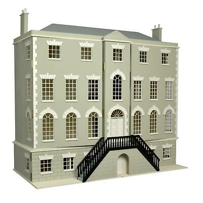 Melody Jane Dolls Houses Country Manor with 8 Rooms & Basement 1:12 MDF Kit