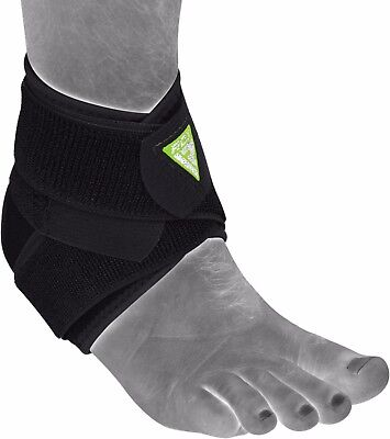 RDX Ankle Support Brace Foot Guard Injury Bandage Breathable Running Boxing Wrap