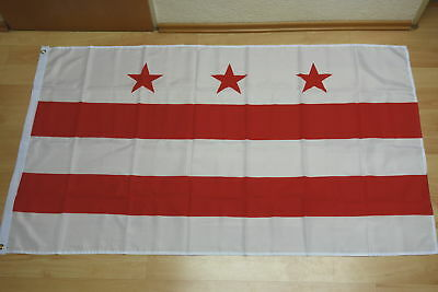Fahnen Flagge District of Columbia - 90 x 150 cm