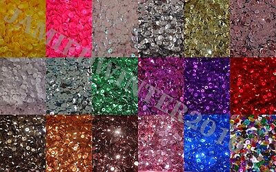 **10 FOR 5** LOOSE ROUND CUPPED SEQUINS,6-7mm SEWING/EMBELLISHMENTS CONFETTi