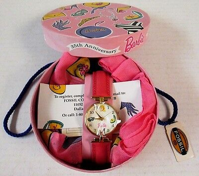 Barbie 35th Anniversary Watch (Fossil Limited Edition) (NEW)