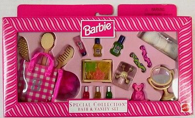 Barbie Special Collection Bath and Vanity Set (NEW)