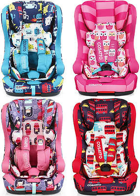 Cosatto HUBBUB GROUP 123 ISOFIX CAR SEAT Travel Safety Baby/Toddler/Child BN