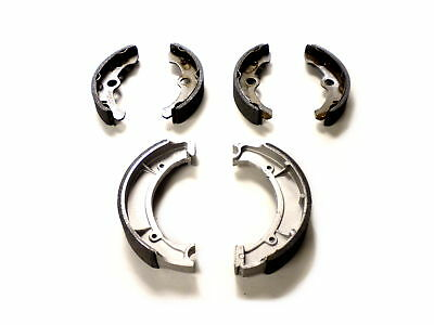 Full Set of Brake Shoes: 1996 - 1999 Yamaha Big Bear 350 2x4 4x4 ATV