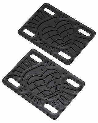 Genuine Thunder Skateboard Riser Pads - 1/8 inch with FREE STICKER