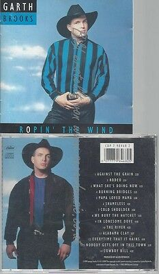 Cd--Garth Brooks--Ropin' The Wind