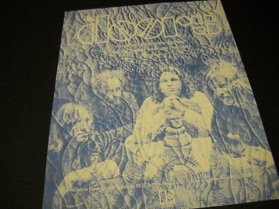 The DOORS psychedelic style rare Preserved PROMO DISPLAY AD from 1970