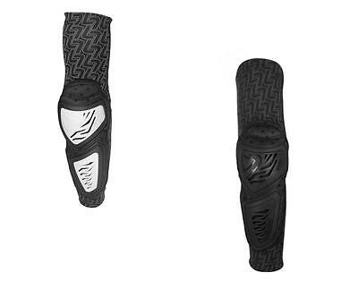 New 2016 Leatt Elbow Guard Contour Motorcycle Atv Mx Black White S/m L/xl Xxl