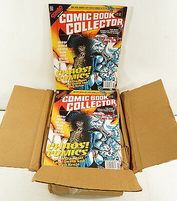 Box of (50) Nov 1994 Comic Book Collector Price Guides #23 Lady Death Evil Ernie