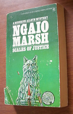 SCALES OF JUSTICE - A RODERICK ALLEYN MYSTERY by NGAIO MARSH 1977 PB