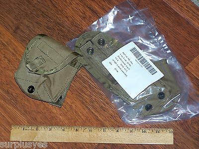 MOLLE II Pouch Coyote Military Army USMC Grenade Compass First Aid Bag P38