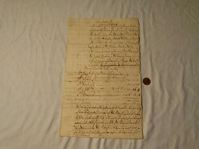 Antique DERBY 1737 FIRE Engines for Extinguishing Manuscript IMPORTANT #A38
