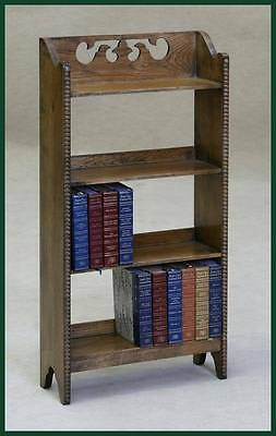 Solid Oak Bookcase Bookstand Bookshelf Rack Stand Antique Style