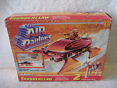 1987 Air Raiders THUNDERCLAW space ship vintage 80s UNUSED scifi toy w/ box