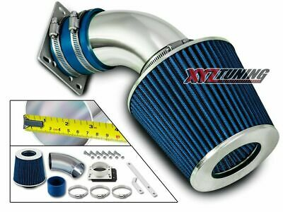 BLUE Short Ram Air Intake+Filter For 92-95 BMW E36 318/318i/318is/318ti 1.8L L4
