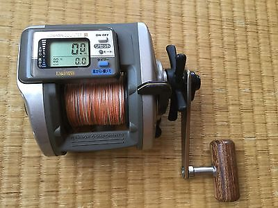Daiwa X350 Super Tanasensor Single SpeedAs New Condition