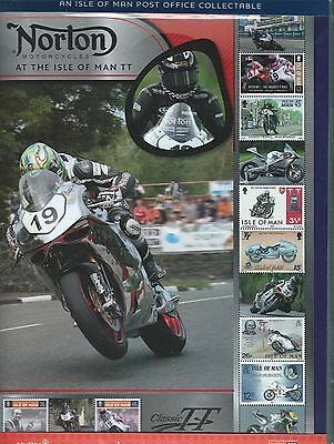 Isle Of Man 2015 Norton Sheetlet In Pack Unmounted Mint, Mnh.