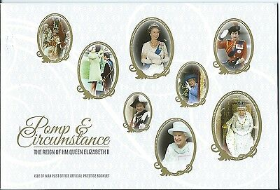 Isle Of Man 2015 Her Majesty The Queen Booklet Self Adhesive Unmounted Mint, Mnh