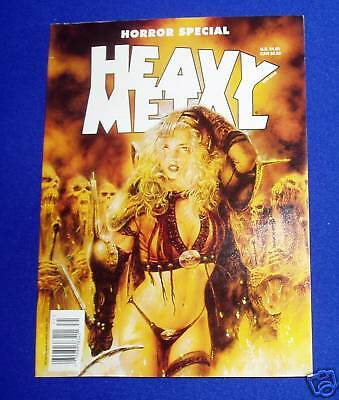 Heavy Metal Horror Special ; AZPIRI, BILAL. New book.