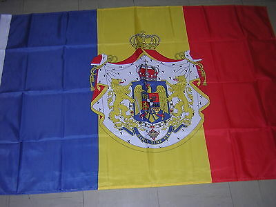 100% NEW Flag of Kingdom of Romania Romanian Army Ensign 1921-1947 3X5ft