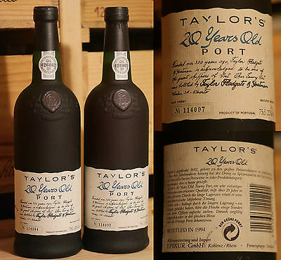 Taylor's 20 Year Old Tawny Port - Top *****