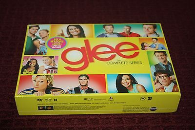 Glee: The Complete Series (DVD, 2015, 34-Disc Set) *Brand New Sealed*