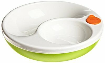 Lansinoh mOmma Mealtime Warm Plate, Green, BPA Free and BPS Free New