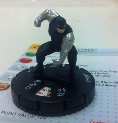 Heroclix Wolverine and the X-Men  #208 CYBER Gravity Feed Marvel
