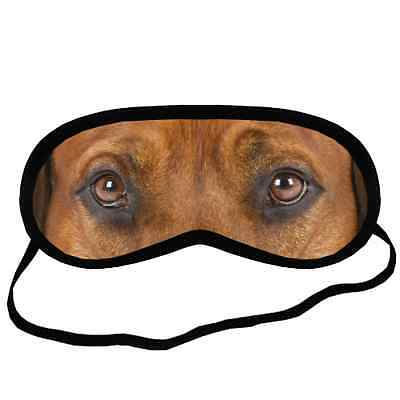 Cute RHODESIAN RIDGEBACK EYES Dog Puppy Small-Med Size SLEEP MASK Gift Cover