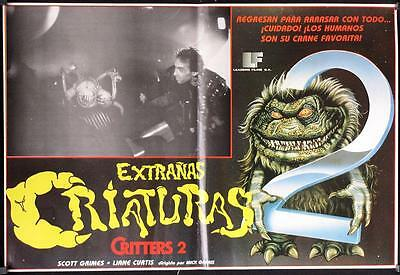 043 CRITTERS 2 Mexican Poster, '88 Scott Grimes