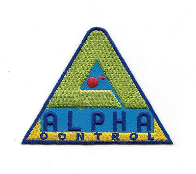Lost In Space TV Series Alpha Control Logo Embroidered Patch, NEW UNUSED