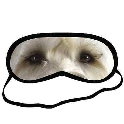 Adorable WHEATEN TERRIER EYES Dog Puppy Small-Med Size SLEEP MASK Gift Cover