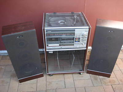Pie Audio 3 In 1 System/ With 2 Large Speakers-Gc-Used/ As-Is--View Photo