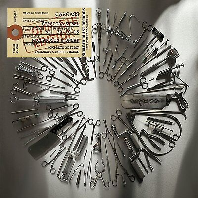 Carcass - Surgical Steel (Complete Edition) - New Vinyl Lp