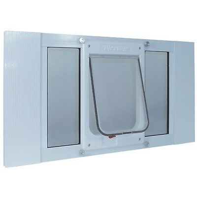 Ideal Pet Products 33-38 SASH CHUBBY KAT MED 33SWDCK Pet Door NEW