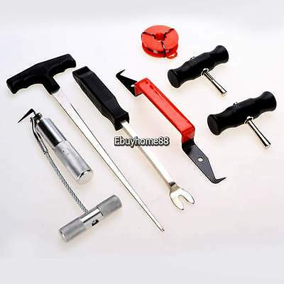 7pcs Professional Auto Windshield Wind Glass Removal Tool Kit Remover  EHE8