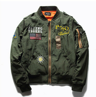 New US Air Force Flight Jacket Outdoor Leisure Men's Cotton Jacket Spring Jacket