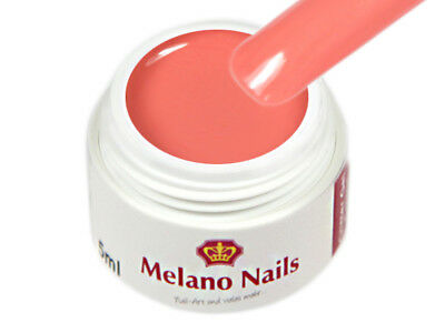 Colour UV Gel Made in Germany 5ml Colour Coral Red