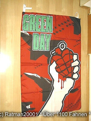 Fahnen Flagge Green Day BT 176 - 96 x 135 cm