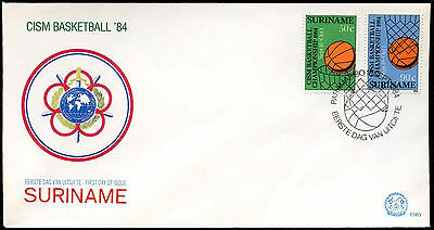 Suriname 1984 Military Sports Council FDC First Day Cover #C30265