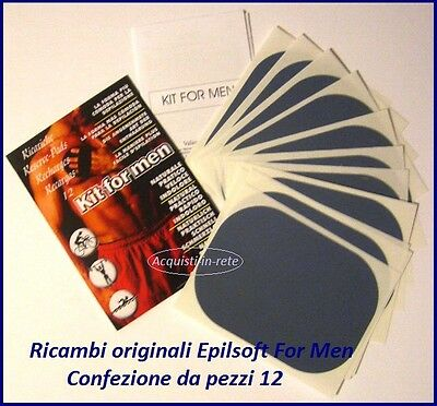 Ricambi Epilsoft For Men  Conf. Da Pezzi 12