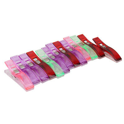 50 Assorted Jumbo Wonder Clip for Fabric Quilting Sewing Knitting Crafts