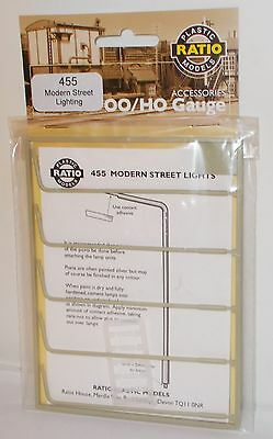 Ratio 455 - Modern Street Lighting (Non-Working) - Plastic Kit - New - (00)