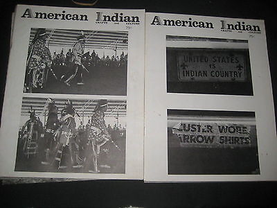 American Indian Crafts and Culture 6 issues from 1974  bk