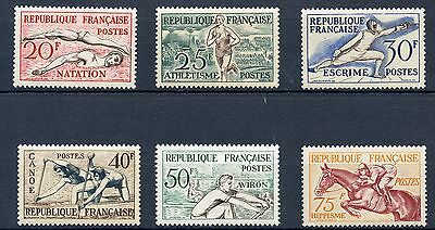 Promo / Stamp / Timbre France Neuf  Serie N° 960/965 ** Jo Helsinki Cote 90 €
