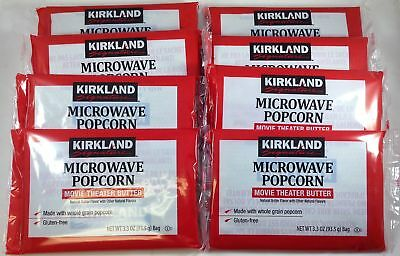Kirkland Signature 14 count Microwave Popcorn bags, each bag is 3.3 oz,