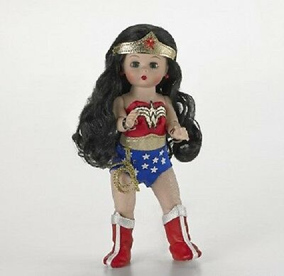 """New in Box ~ Madame Alexander ~ Wonder Woman ~ 8"""" Girl Doll ~~New Release~~"""