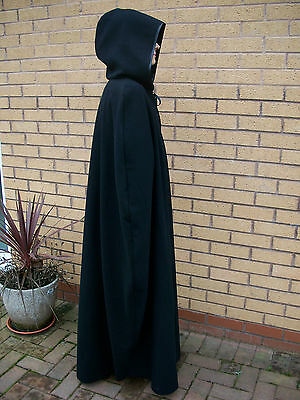 ADULT CAPE HOOD cloak GAME OF THRONES MEDIEVAL COSPLAY S M L XL XXL