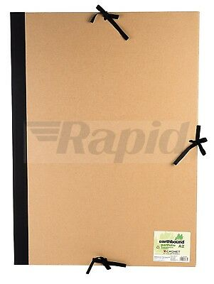 Daler Rowney Cachet A2 Recycled Earthbound Portfolio with Flaps